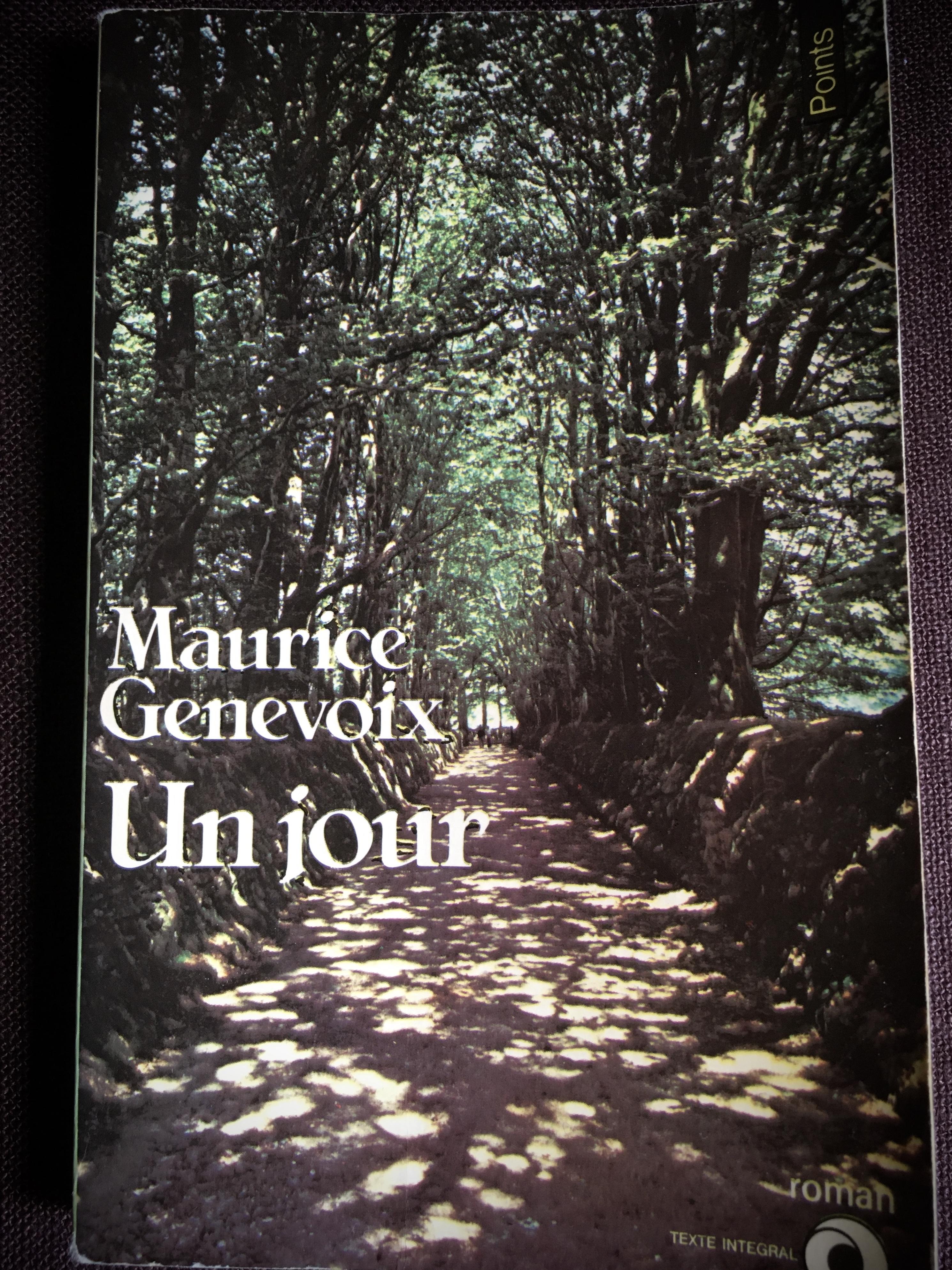 Maurice Genevoix – Un jour